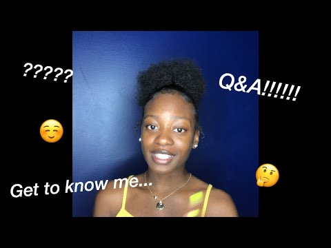 MY FIRST YouTube VIDEO!!! (Q&A)