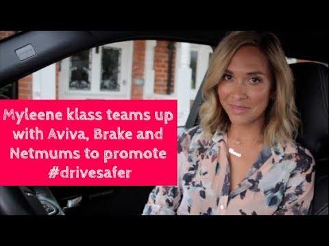 MYLEENE KLASS TEAMS UP WITH AVIVA, BRAKE AND NETMUMS TO PROMOTE #DRIVESAFER