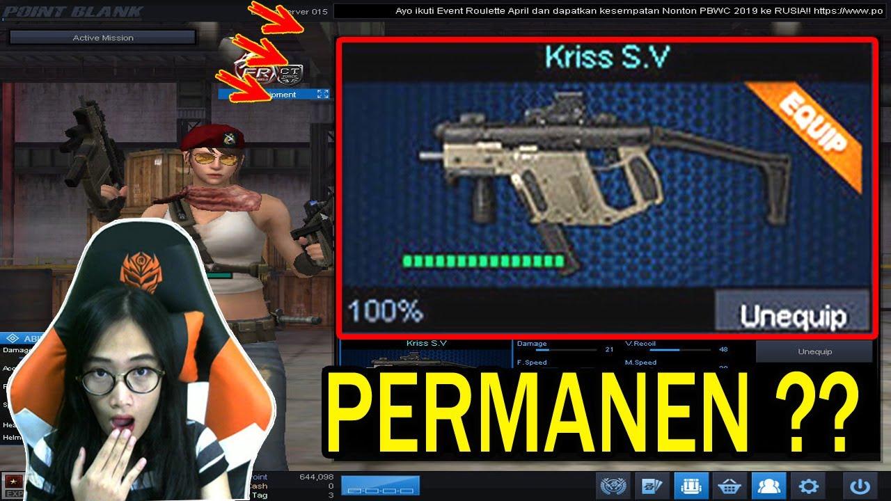 Kriss Sv Jadi Permanen No Click Bait Point Blank Zepetto Indonesia Youtube