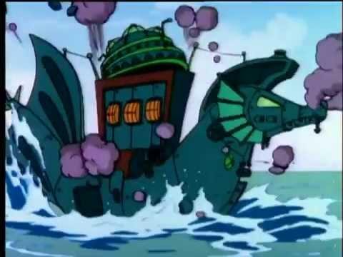 Gummi Bears Season 4 E01 Gummi's At Sea.