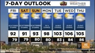 FORECAST: More thunderstorms, heavy rain on the way today