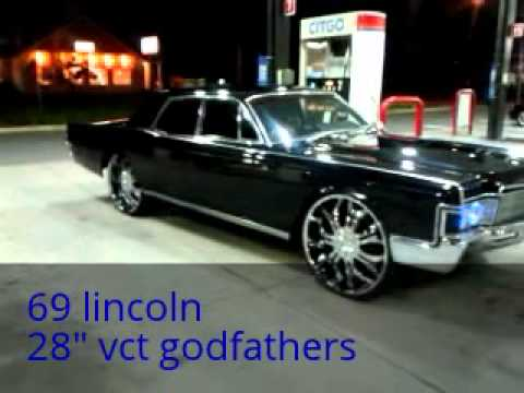 My 69 Lincoln Continental On 28s Youtube