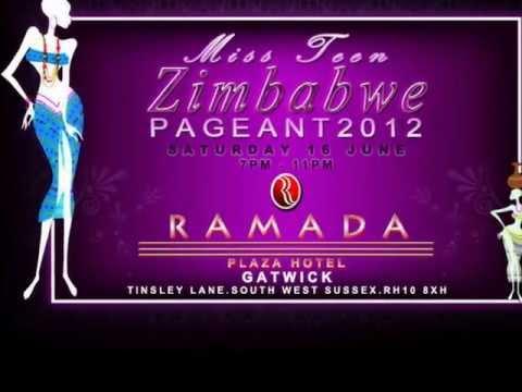 Miss Teen Zimbabwe (UK)PROMO 2012