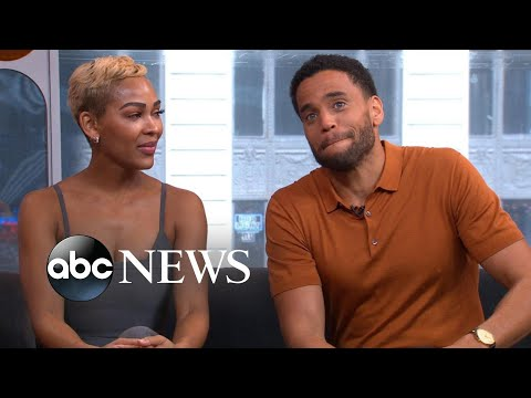 Meagan Good And Michael Ealy Go All In With Dennis Quaid