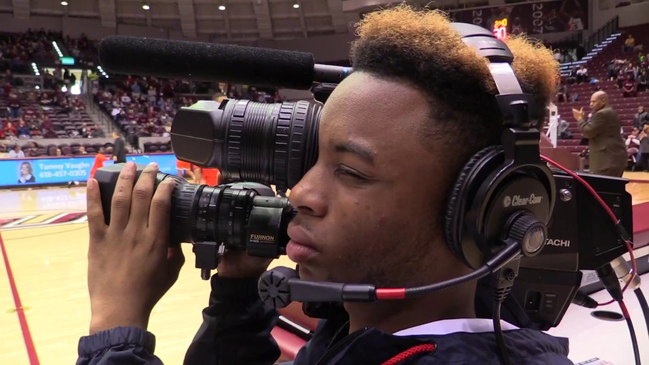 Sports Production in SIU's College of Mass Communication and Media Arts