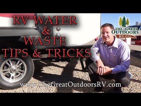 RV Water & Waste: Tips & Tricks