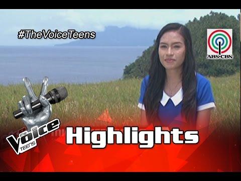 The Voice Teens Philippines Meet Mica Becerro