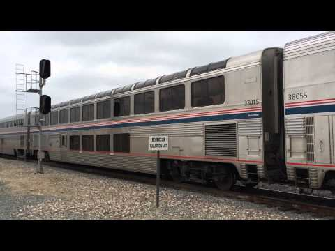 Norfolk Southern 7564 Leads Amtrak's Westbound Southwest Chief
