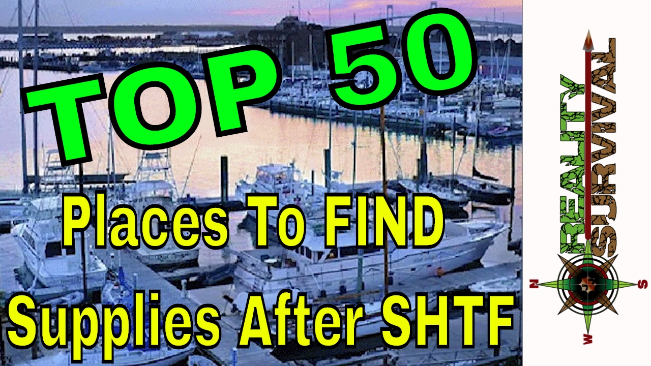 top 50 places to find supplies after shtf youtube. Black Bedroom Furniture Sets. Home Design Ideas
