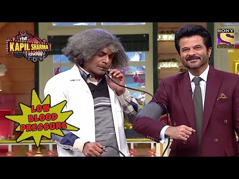 Dr. Gulati Declares Anil Kapoor Has Low BP  – The Kapil Sharma Show