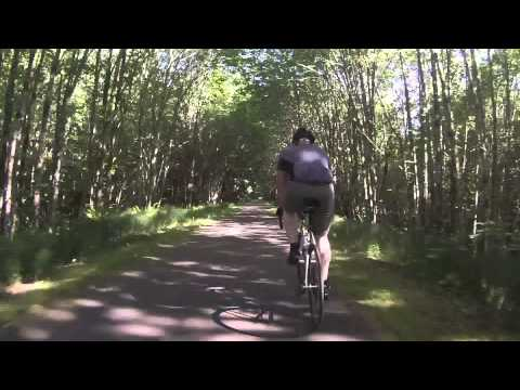 Olympia to Yelm on a bike in 5:00 Minutes.