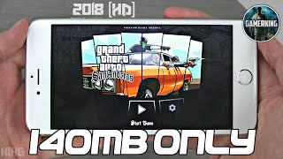 [140MB] GTA San Andreas Lite Download With Cleo MOD | Nougat 7.0 | All GPU | Highly Compressed