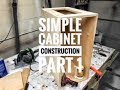 Simple Kitchen Cabinet Construction