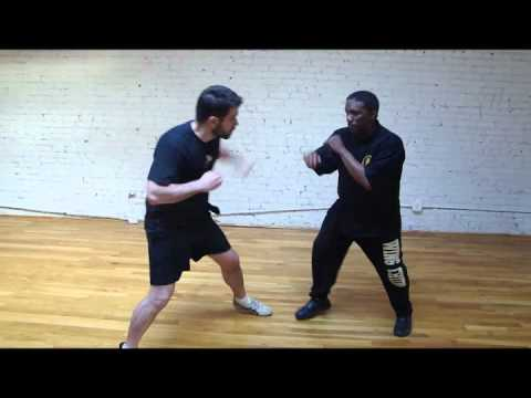 Wing Chun isolation drill v jab overhand