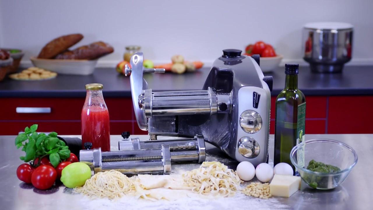 Using The Ankarsrum Pasta Roller Youtube