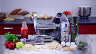 Using the Ankarsrum tagliatelle cutter