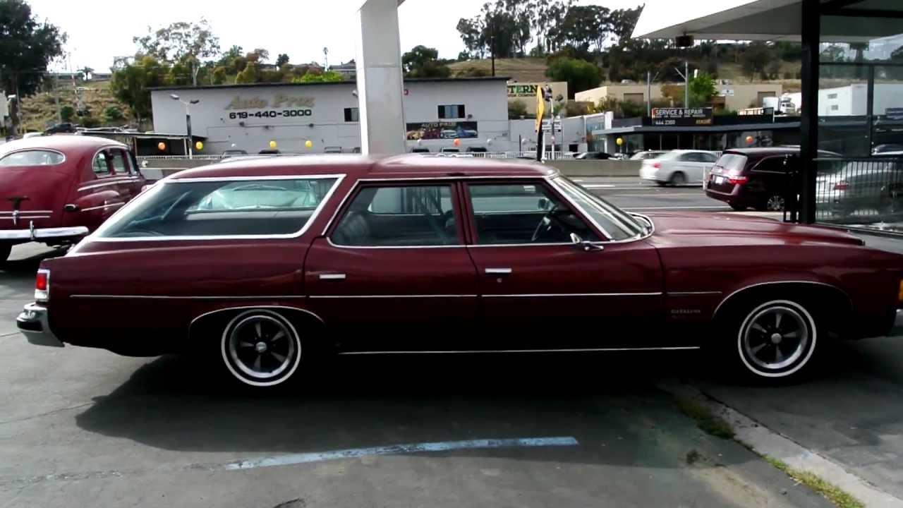 1974 Pontiac Catalina 455 Safari Station Wagon Estate 1 Owner Big ...