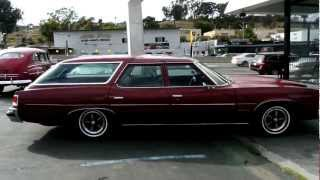1974 Pontiac Catalina 455 Safari Station Wagon Estate 1 Owner Big Block Pull Car