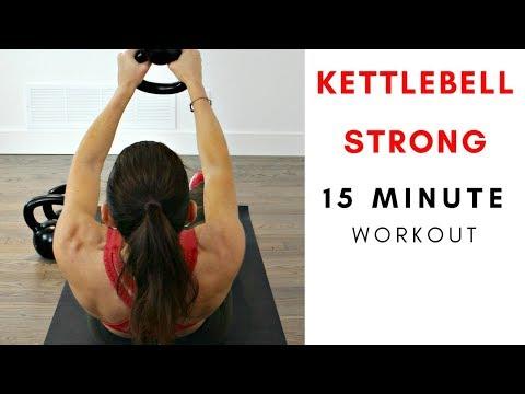 15 MINUTE KETTLEBELL STRONG WORKOUT