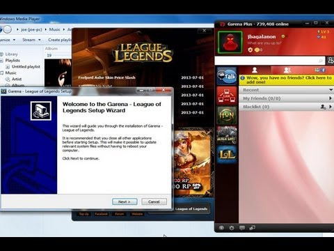 How To Install And Play League of Legends (LOL) Garena