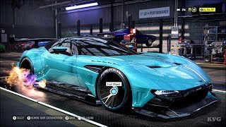 Need for Speed Heat - Aston Martin Vulcan 2016 - Customize | Tuning Car (PC HD) [1080p60FPS]