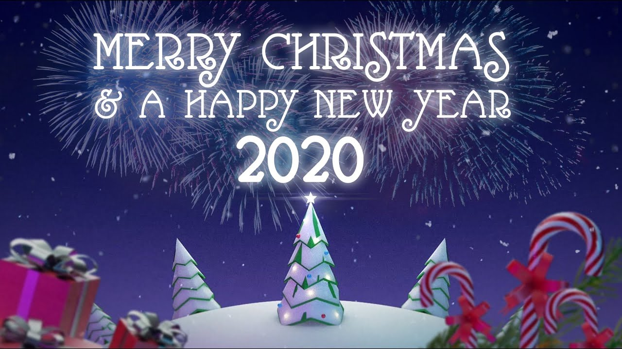 merry christmas a happy new year 2020 youtube merry christmas a happy new year 2020