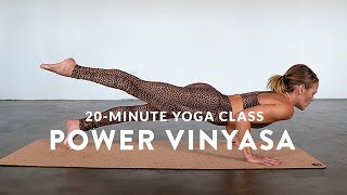 Short, Sweet and Sweaty 💦 Power Vinyasa Flow (Full Class)