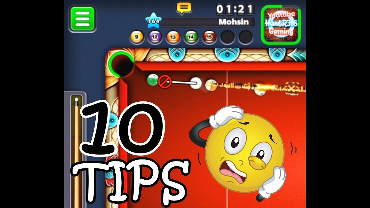 HUNTR316 GAMING HOW TO PLAY 8 BALL POOL TOURNAMENTS (10 TIPS)