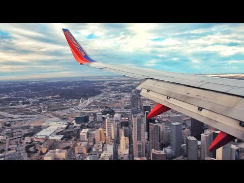 Landing At Dallas Love Field (DAL) — Southwest Airlines WN6920