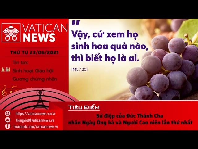 Radio thứ Tư 23/06/2021 - Vatican News Tiếng Việt