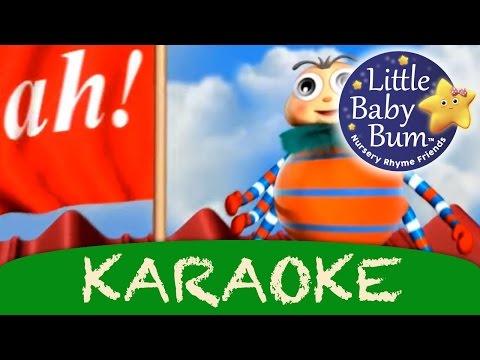 karaoke: Incy Wincy Spider/Itsy Bitsy Spider | Instrumental Version With Lyrics from LittleBabyBum!