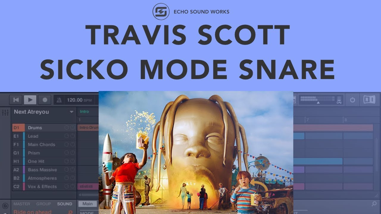 Travis Scott Sicko Mode Snare | How To Make