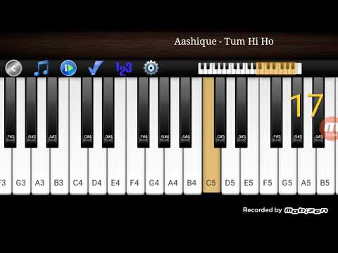 How to play background music in piano keyboard in Android  mobile