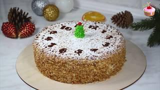 Торт ПОДАРОЧНЫЙ по ГОСТу Простой и доступный рецепт торта на Новый год 2020 Новогодний торт 2020