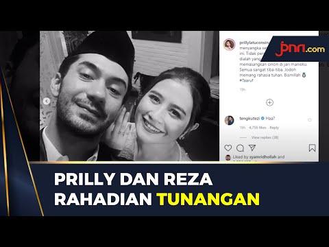 Prilly Latuconsina Unggah Foto Tunangan dengan Reza Rahadian, Taaruf?