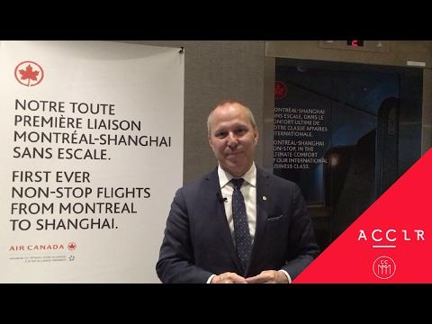 Nouvelle liaison aérienne Montréal-Shanghai: source d'occasions d'affaires