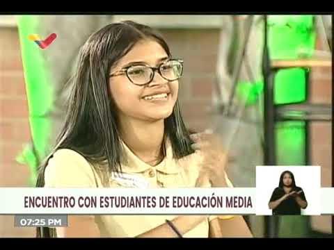 """Liceísta pide a Maduro retomar medio pasaje estudiantil, éste ordena a gabinete """"parir soluciones"""""""