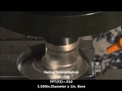 TUFFY High Feed Cutter Test Video SDMT 120512 GM GA4230