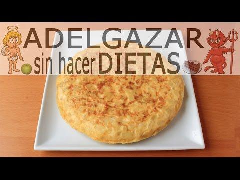 TORTILLA DE PATATAS LIGHT # ADELGAZAR SIN HACER DIETAS