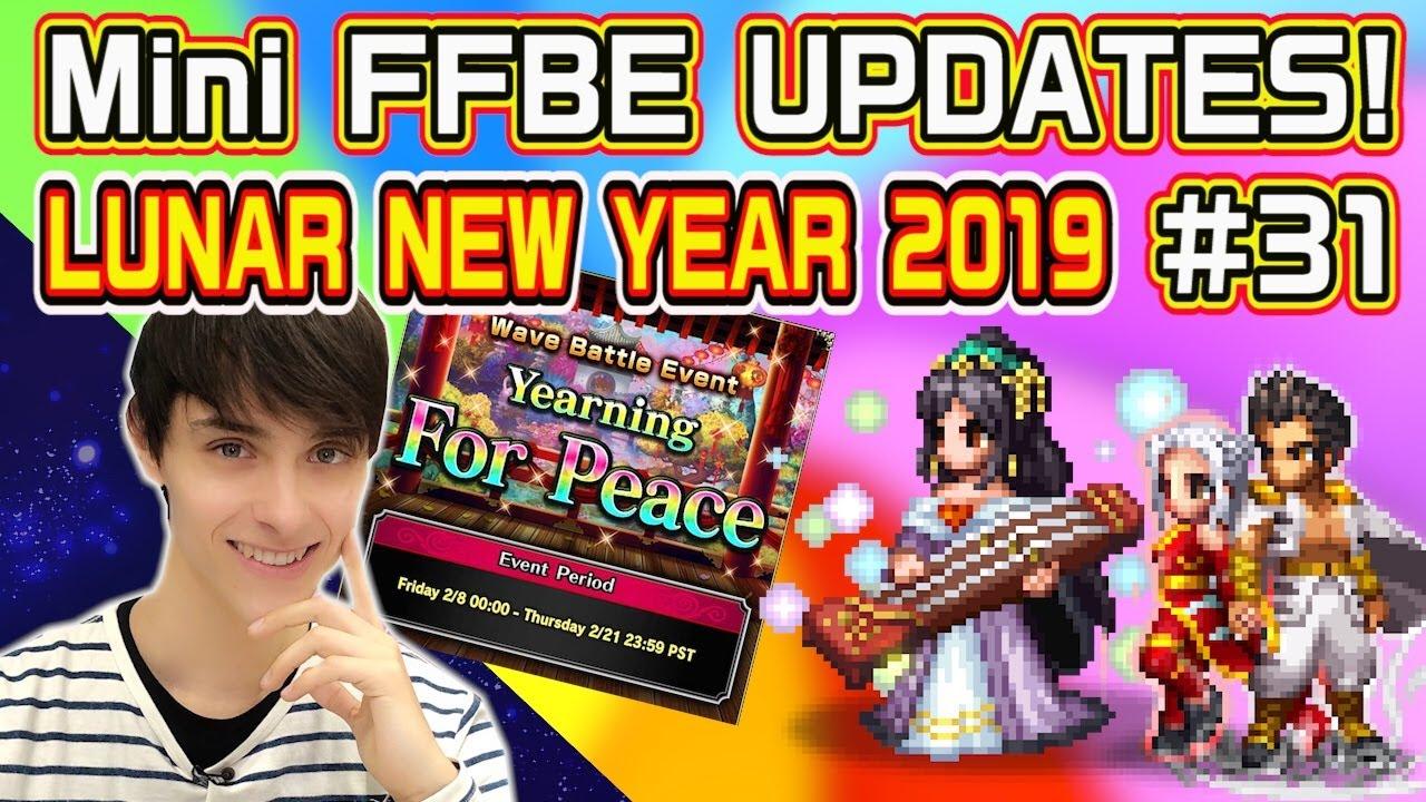 FFBE】 Mini FFBE UPDATES! #31 - Lunar New Year 2019【Global】