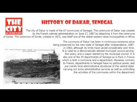 history of dakar, senegal