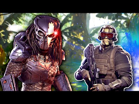 I BECAME THE PREDATOR! - Predator Hunting Grounds Gameplay