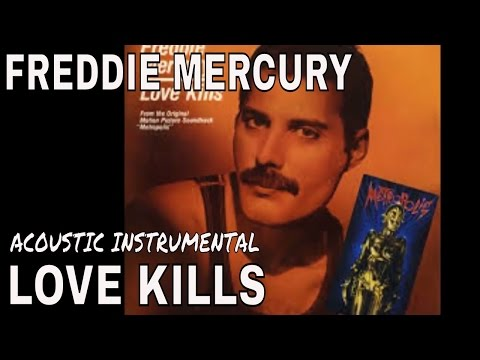 Queen - Love Kills - Acoustic Guitar Instrumental Cover