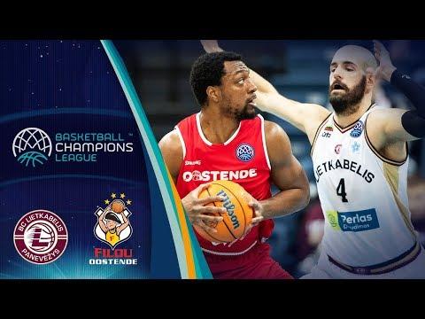 Lietkabelis V Filou Oostende – Highlights – Basketball Champions League 2019-20