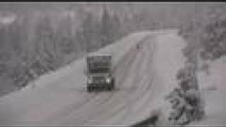 Snow on Siskiyou Pass