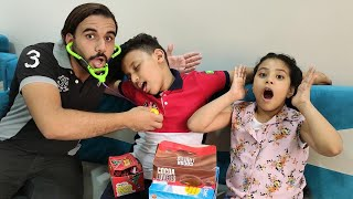 مازن اكل حلويات كتير وجالو دكتور الاسنان !!!