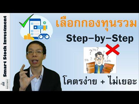 เลือกกองทุนรวม Step-by-Step โคตรง่าย + ไม่เยอะ