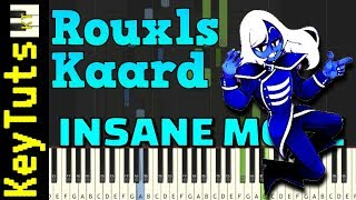 Rouxls Kaard from Deltarune - Insane Mode [Piano Tutorial] (Synthesia)