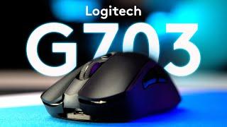 Logitech G703 LIGHTSPEED - новата мишка на бюрото ми!