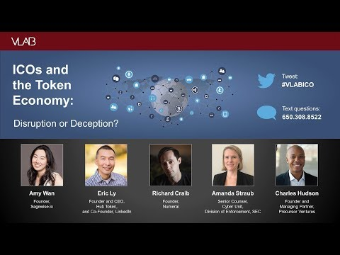 ICOs and the Token Economy: Disruption or Deception?